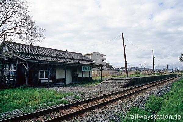 由利高原鉄道・鳥海山ろく線・薬師堂駅、国鉄ローカル線の面影残す