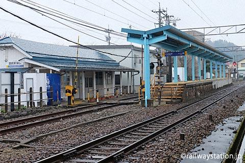 えちぜん鉄道・勝山永平寺線・越前新保駅