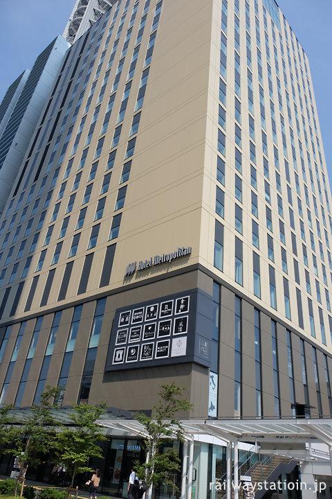 ホテルメトロポリタンさいたま新都心、外観
