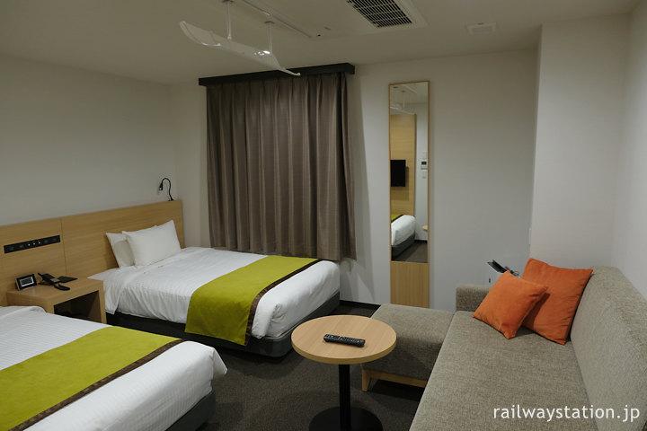 ワイズホテル旭川駅前のツインルーム