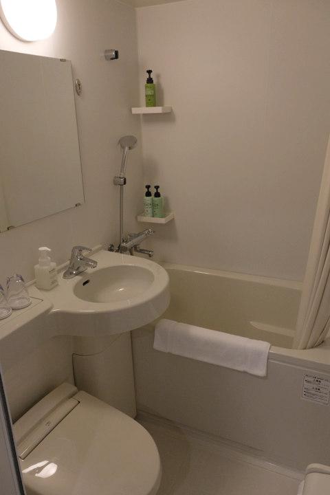 ワイズホテル旭川駅前バスルーム