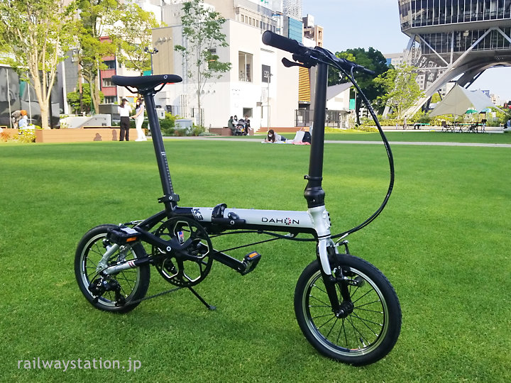 駅巡りの新たな相棒、折りたたみ自転車・DAHON(ダホン)K3