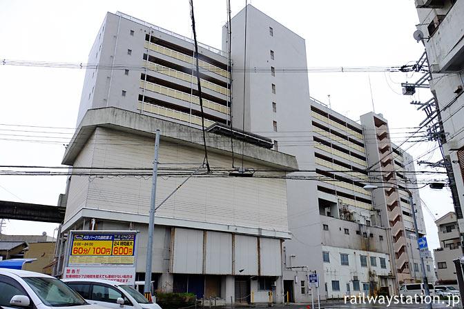 姫路モノレール・大将軍駅があった高尾アパート、北側