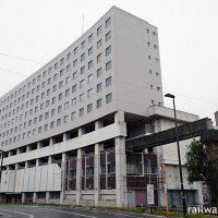 姫路モノレール廃線後も大将軍駅の痕跡が残る高尾アパート