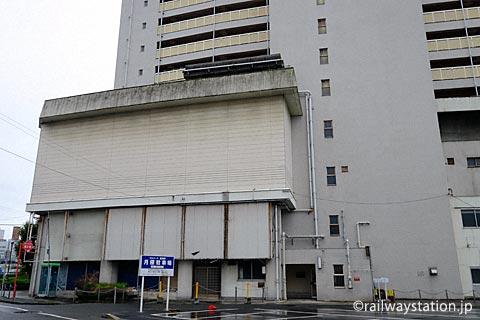 高尾アパートの一角、姫路モノレール・大将軍駅の駅舎跡??