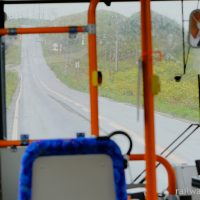沿岸バス豊富-留萌、上り坂に昔の北海道自転車旅行を思う…