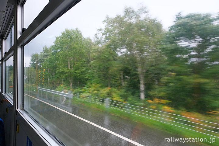沿岸バス12留萌行き・豊富町の車窓