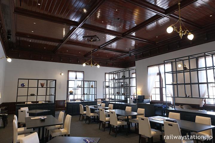 門司港駅舎みかど食堂byNarisawa、2階にあったレストランをオマージュ