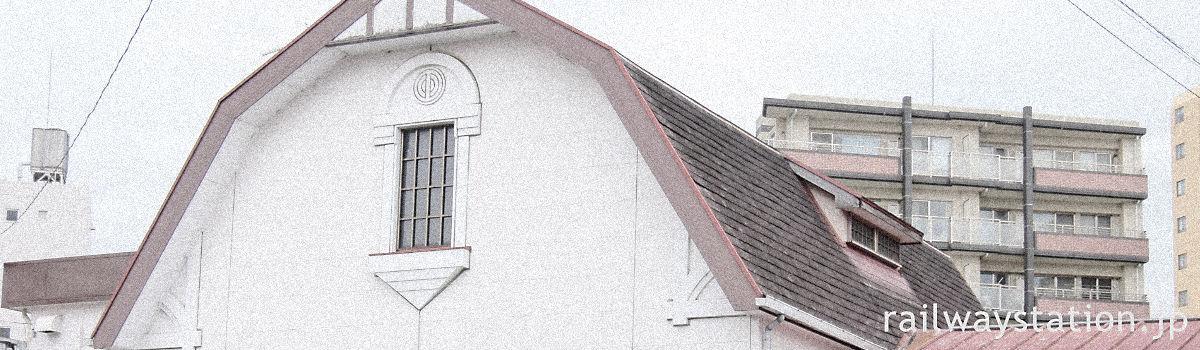 私鉄の二つ星クラスのレトロ駅舎・イメージ画像