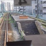 JR鶴見線に残る、前身の鶴見臨港鉄道・本山駅廃駅跡、プラットホーム