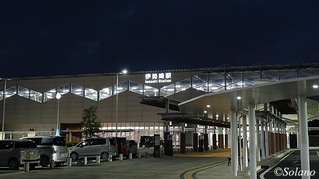 JR東日本・両毛線、2010年竣工、高架化された伊勢崎駅舎