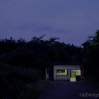 女鹿駅~たった数秒、視界を掠めた秘境駅を訪ね…~