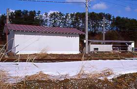 JR東日本・津軽線・中小国駅の駅舎
