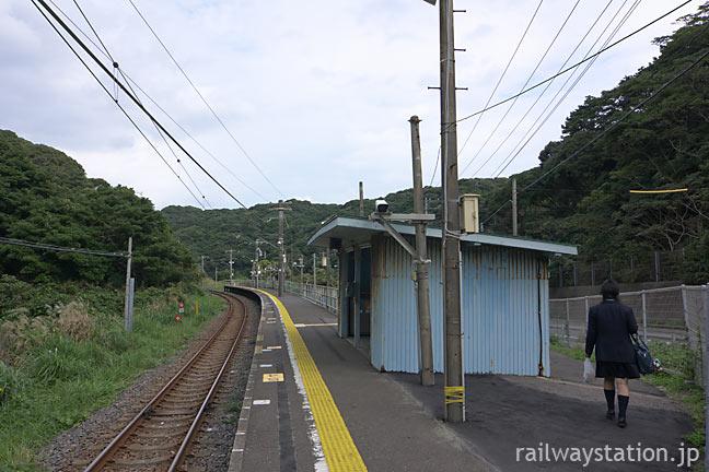 JR東日本・外房線の秘境駅!?行川アイランド駅ホームと待合室