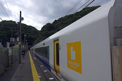 外房線、E257運用の普通列車で行川アイランド駅へ