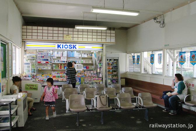 JR東日本・東北本線・仙北町駅のKIOSK