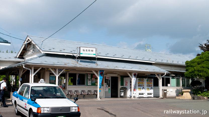 JR東北本線・仙北町駅、風格ある木造駅舎が現役