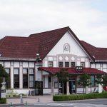 JR東日本東北本線・白河駅、大正ロマン漂う洋風木造駅舎