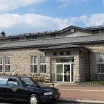 JR北海道・富良野線・美瑛駅、昭和27年築の石造りの駅舎