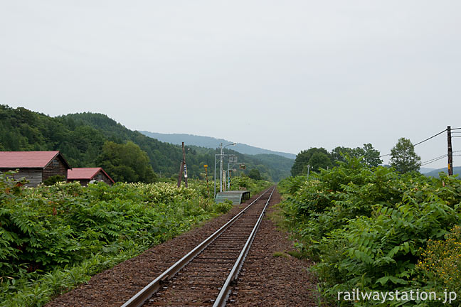 JR北海道・宗谷本線・北星駅、典型的な停留場スタイルの無人駅