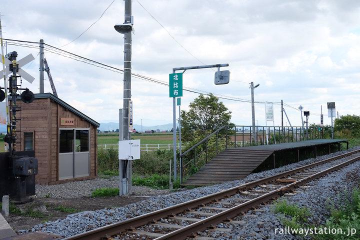JR北海道宗谷本線、2021年で廃止となる北比布駅