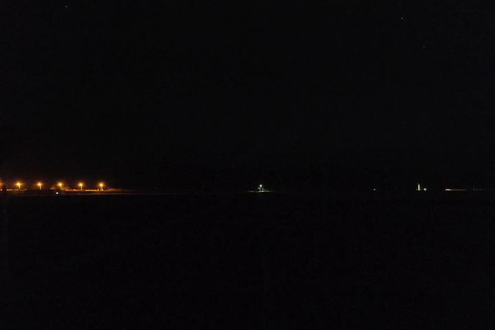 宗谷本線・南美深駅、夜は真っ暗になる…