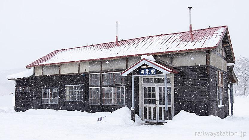 深名線廃線から21年…見事に蘇った沼牛駅の木造駅舎