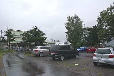 石北本線・宗谷本線・新旭川駅、駅前の駐車場