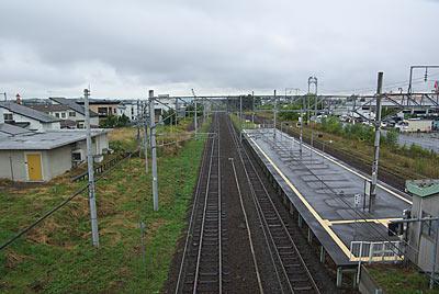 宗谷本線・石北本線の新旭川駅、プラットホーム