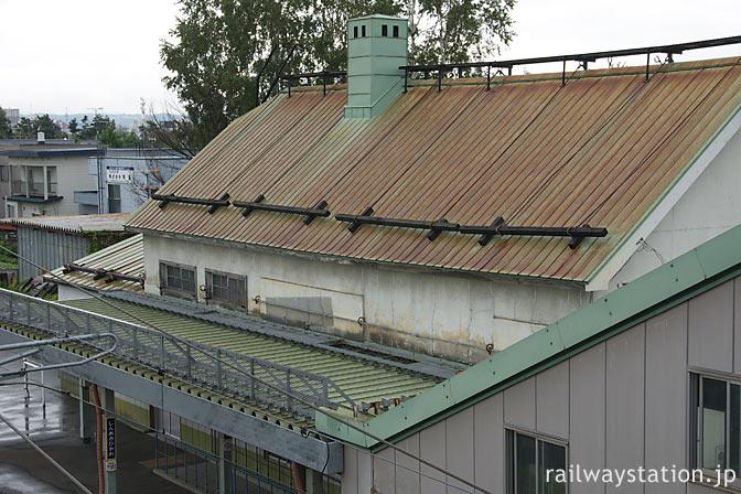 JR石北本線・宗谷本線の新旭川駅、駅舎ホーム側
