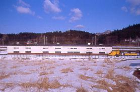 JR海峡線・津軽今別駅付近の青函トンネル救護施設