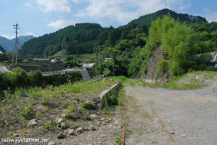 日田彦山線、豪雨の水害により破壊された筑前岩屋駅