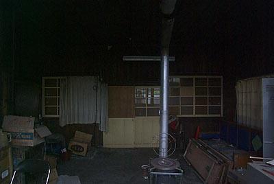 日田彦山線・大行司駅の木造駅舎、旧駅事務室跡