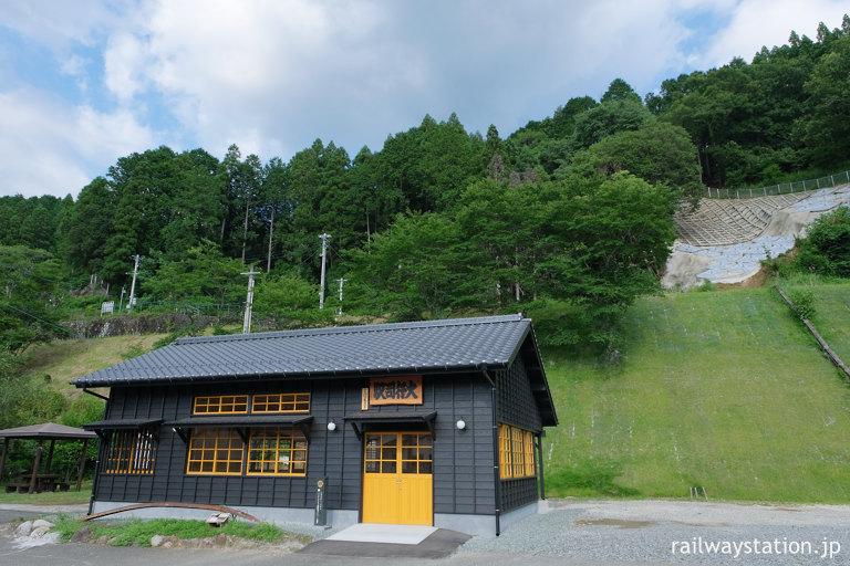 JR九州・日田彦山線、木造駅舎が復元された大行司駅