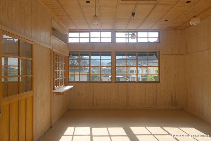 日田彦山線、復元された大行司駅舎、駅事務室部分