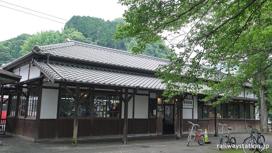 日豊本線・東別府駅、別府市指定文化財となった明治の木造駅舎