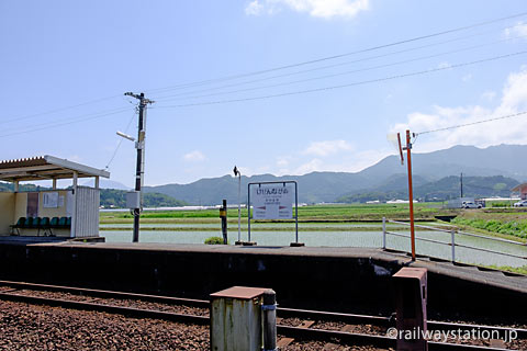 JR九州筑肥線・肥前長野駅、プラットホーム