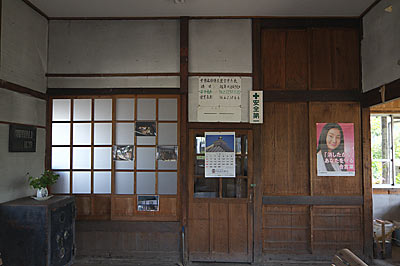 JR長崎本線・肥前七浦駅、旧駅事務室跡の宿直室の方