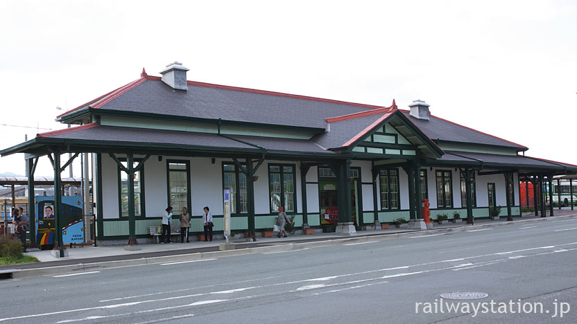JR上熊本駅舎が移築された熊本市電・上熊本停留所