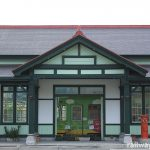 熊本市電・上熊本停留所に移築され、一応!?生き残ったJR上熊本旧駅舎