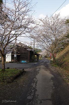 JR九州・肥薩線の秘境駅・大畑駅前、人家は皆無の秘境駅