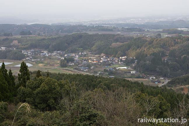 JR九州・肥薩線の秘境駅、大畑駅から眺める絶景