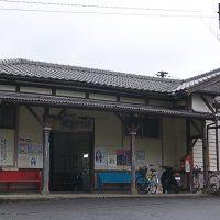 採銅所駅 (JR九州・日田彦山線)~ローカル線のハイカラ木造駅舎~