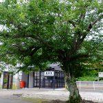 筑肥線・鹿家駅、旧駅舎へのオマージュ