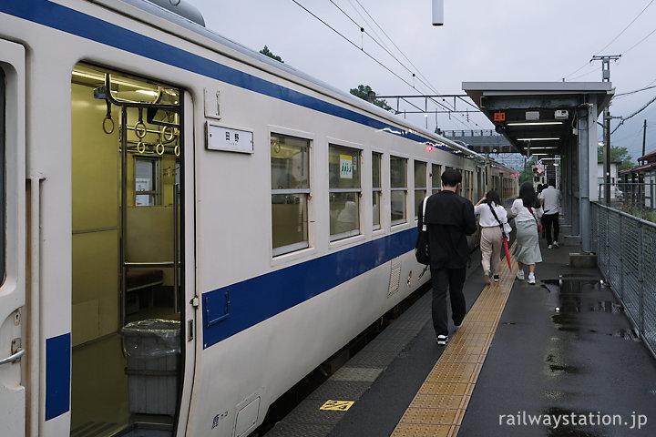 JR九州日豊本線の国鉄型415系電車、田野駅終点の普通列車