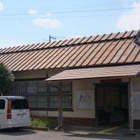 JR東海・紀勢本線・神志山駅、昭和14年築の木造駅舎