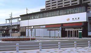 JR東海・関西本線・春田駅、高架駅の構造