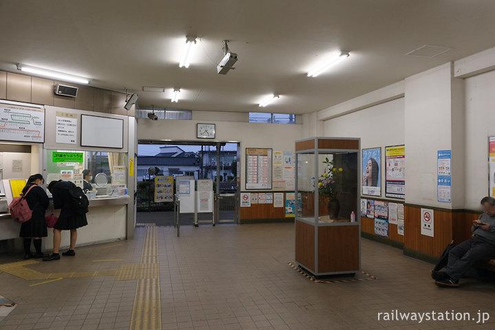 JR東海身延線・南甲府駅、待合室にはみどりの窓口も