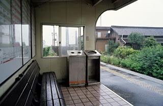 JR東海・太多線・下切駅、ホームに待合所があるだけの無人駅