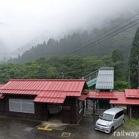 杉原駅 (JR東海・高山本線)~木造駅舎で雨音を聞きながら…~